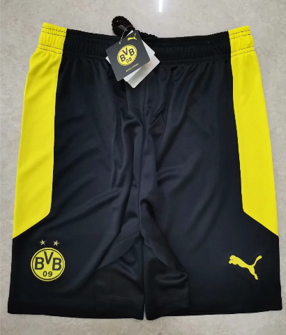 Thai Version Borussia Dortmund 20/21 Home Soccer Shorts