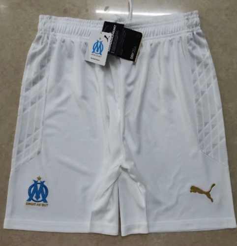 Thai Version Olympique Marseille 20/21 Home Soccer Shorts