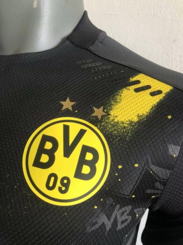 Player Version Borussia Dortmund 20/21 Away Authentic Jersey