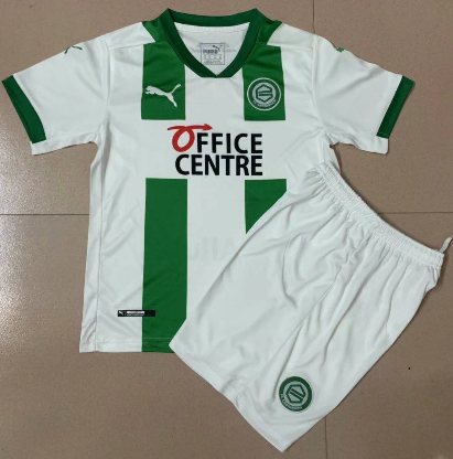 Groningen 20/21 Kids Home Soccer Jersey and Short Kit