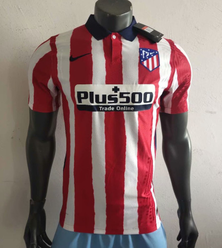 Player Version Atletico Madrid 20/21 Home Authentic Jersey