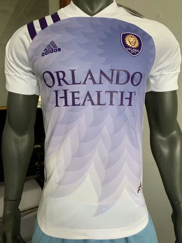 Player Version Orlando City 2020 Away Authentic Jersey
