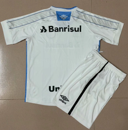 Gremio 20/21 Away Soccer Jersey and Short Kit