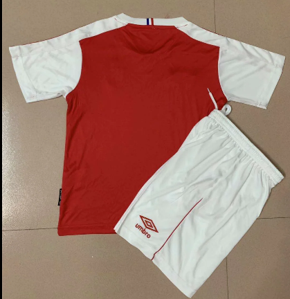 Stade de Reims 20/21 Kids Home Soccer Jersey and Short Kit