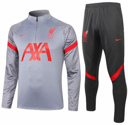 Liverpool 20/21 Soccer Training Top and Pants -B429