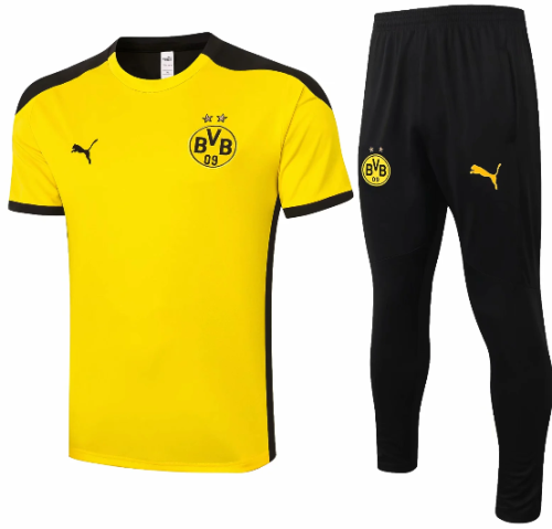 Borussia Dortmund 20/21 Training Jersey and Pants C558