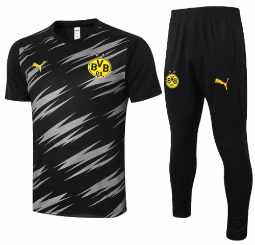 Borussia Dortmund 20/21 Training Jersey and Pants C563