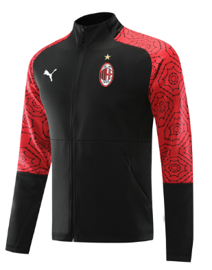 AC Milan 20/21 Sports Jacket -Black