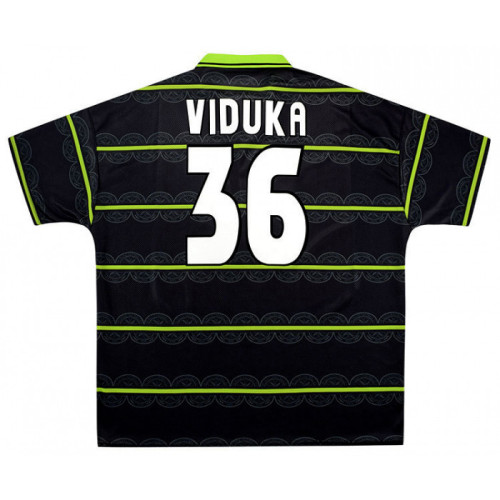 Celtic 1998-99 Home Retro Jersey Viduka #36