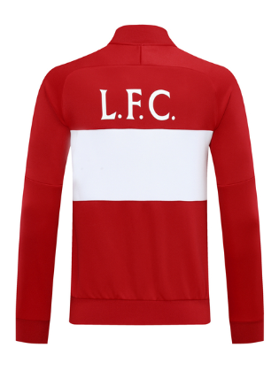 Liverpool 20/21 Training Jacket - Red White