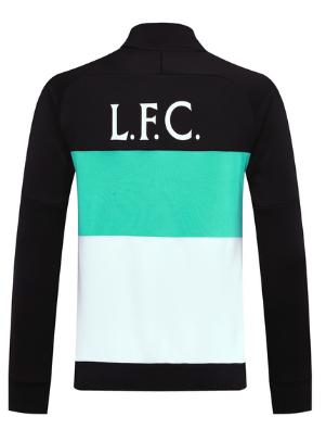Liverpool 20/21 Training Jacket - Black Blue White