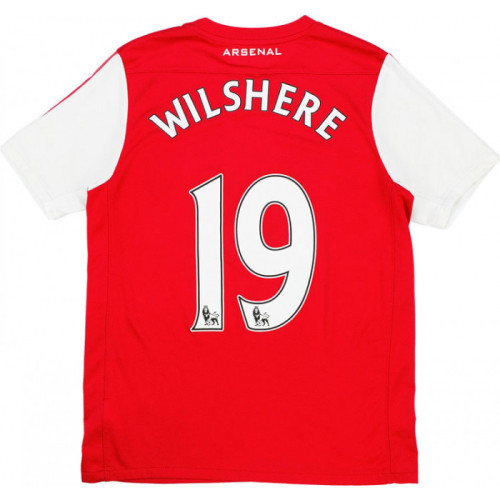 ARS 2011/12 Home Retro 125th Anniversary Jersey Wilshere #19