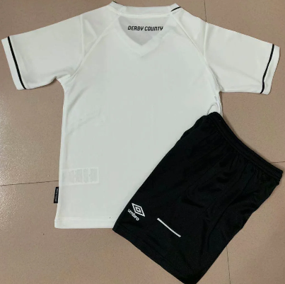 Derby County 20/21 Home Soccer Jersey And Short Kit