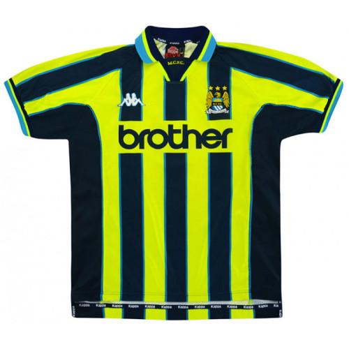 Manchester City 1998-99 Away Retro Jersey