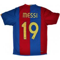 Barcelona 2006/2007 Home Retro Jersey Messi #19