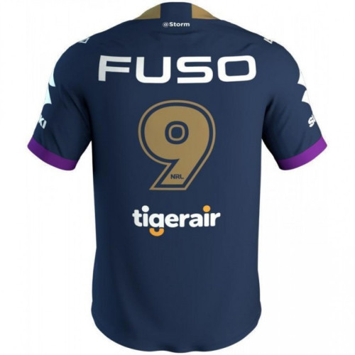 Melbourne Storm 2019 Men's Cameron Smith 400 Game Rugby Jersey
