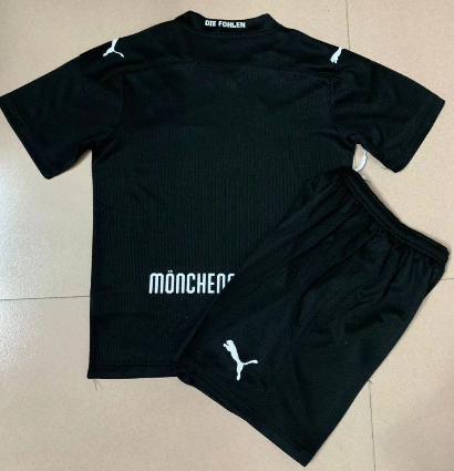 Monchengladbach 20/21 Away Soccer Jersey And Short Kit