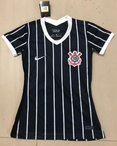 Thai Version Corinthians 20/21 Women's Away Soccer Jersey