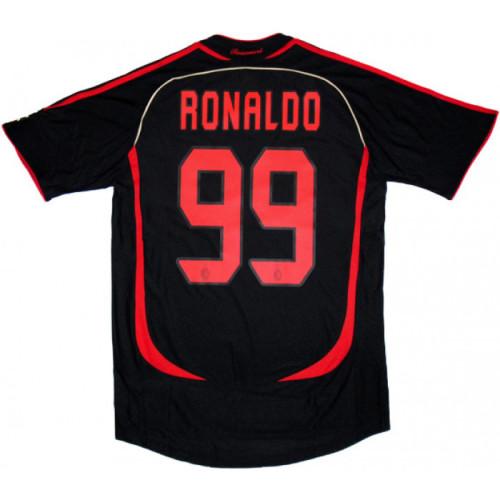 AC Milan 2006/2007 Third Retro Jersey Ronaldo #99