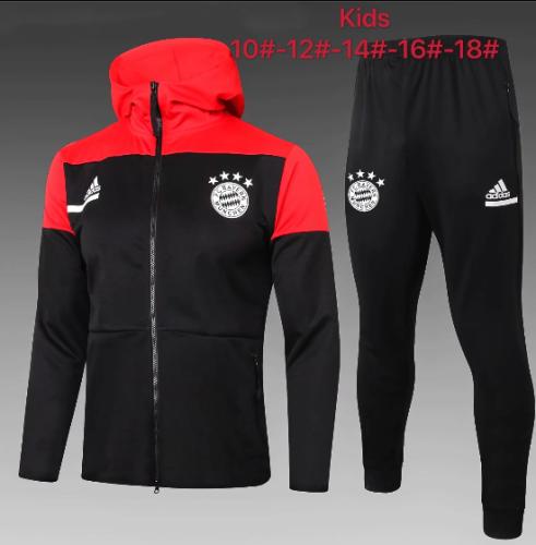 Bayern Munich 20/21 Kids Hoodie and Pants - E499