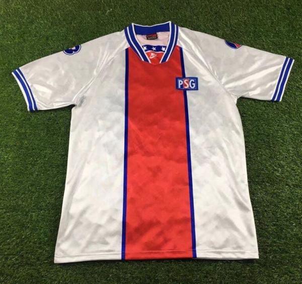 PSG 1994-95 Away Retro Soccer Jersey