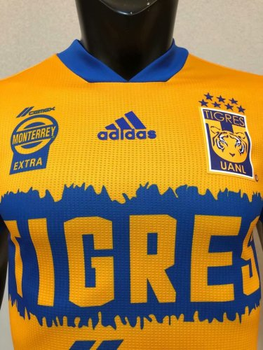 Player Version Tigers UANL 20/21 Home Authentic Jersey