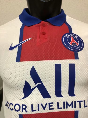 Player Version PSG 20/21 Away Authentic Jersey