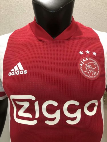 Player Version Ajax 20/21 Home Authentic Jersey