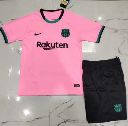 Barcelona 20/21 Third Soccer Jersey and Short Kit