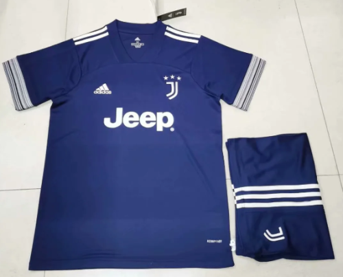 Juventus 20/21 Away Soccer Jersey and Short Kit