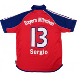 Bayern Munich 1999-01 Home Retro Jersey Sergio #13