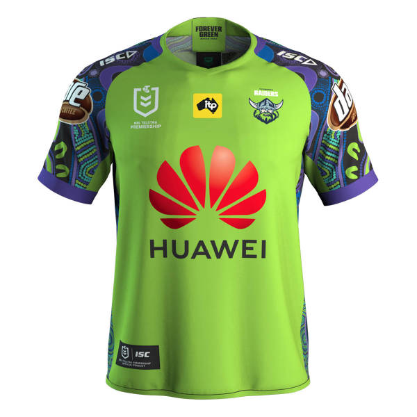 Canberra Raiders 2020 Men's Indigenous Rugby Jersey