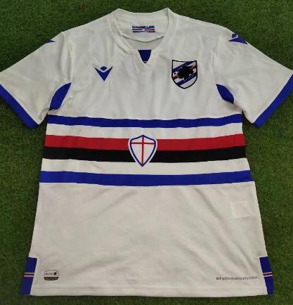 Thai Version Sampdoria 20/21 Away Soccer Jersey