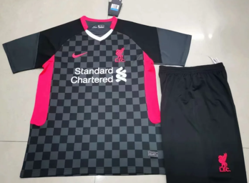 Liverpool 20/21 Third Soccer Jersey and Short Kit