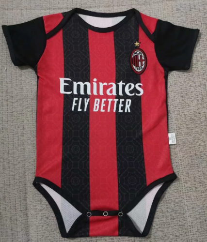 AC Milan 20/21 Home Kit Baby Bodysuits