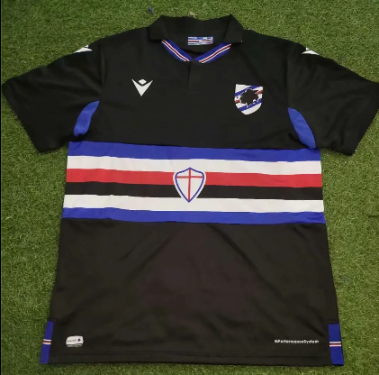 Thai Version Sampdoria 20/21 Third Soccer Jersey