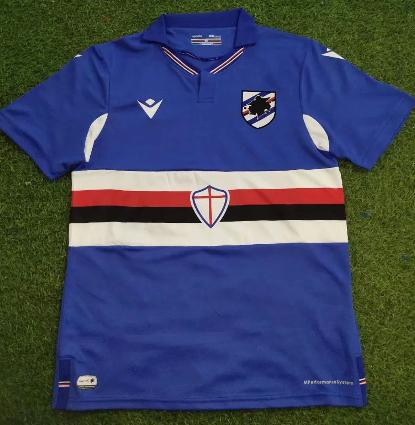 Thai Version Sampdoria 20/21 Home Soccer Jersey