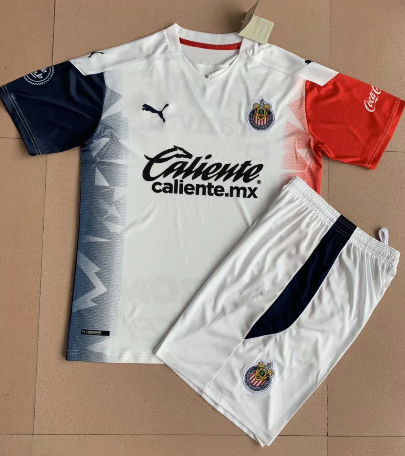 Chivas 20/21 Away Soccer Jersey and Short Kit