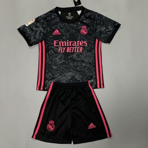 Real Madrid 20/21 Kids Third Soccer Jersey and Short Kit
