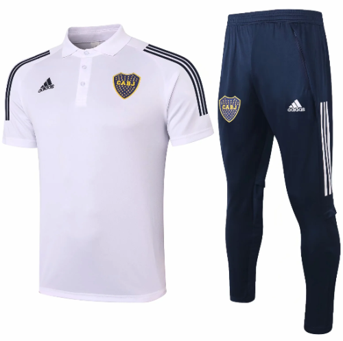 Boca Juniors 20/21 Polo and Pants -C569