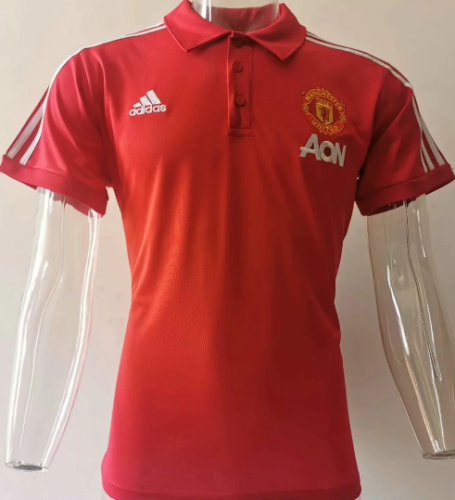 Manchester United 20/21 Polo - Red