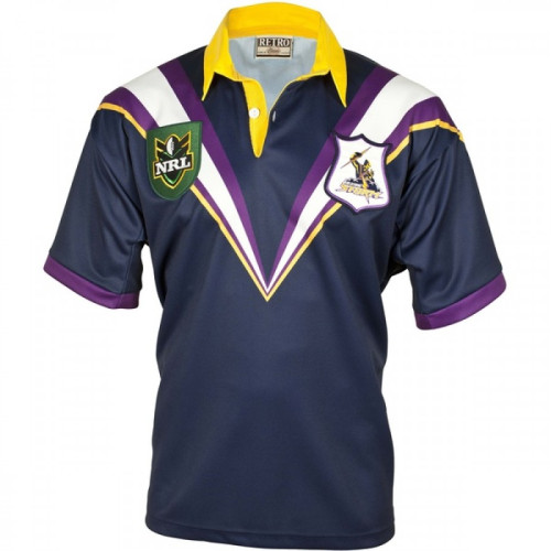 Melbourne Storm 1998 Men's Retro Rugby Jersey