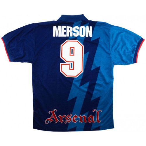 ARS 1995-1996 Away Retro Jersey #9 Merson