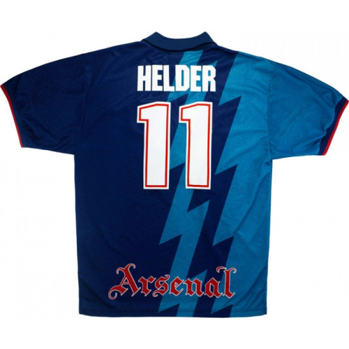 ARS 1995-1996 Away Retro Jersey #11 Helder