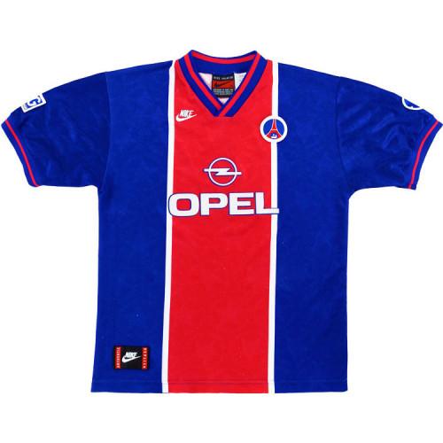 PSG 1995-96 Home Retro Soccer Jersey