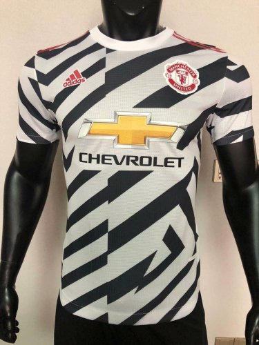 Player Version Man Utd 20/21 Third Authentic Jersey