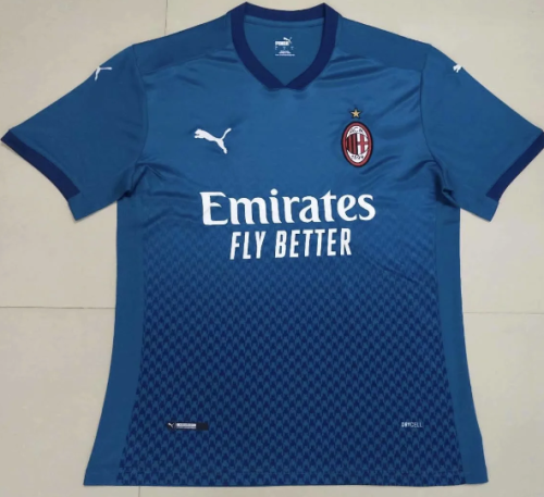 Thai Version AC Milan 20/21 Third Soccer Jersey