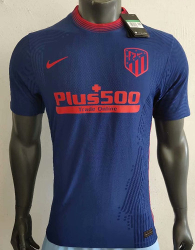 Player Version Atletico Madrid 20/21 Away Authentic Jersey