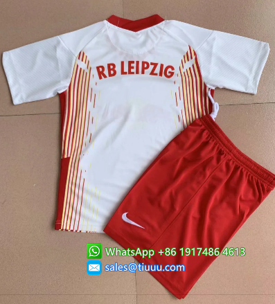 RB Leipzig 20/21 Home Soccer Jersey and Short Kit