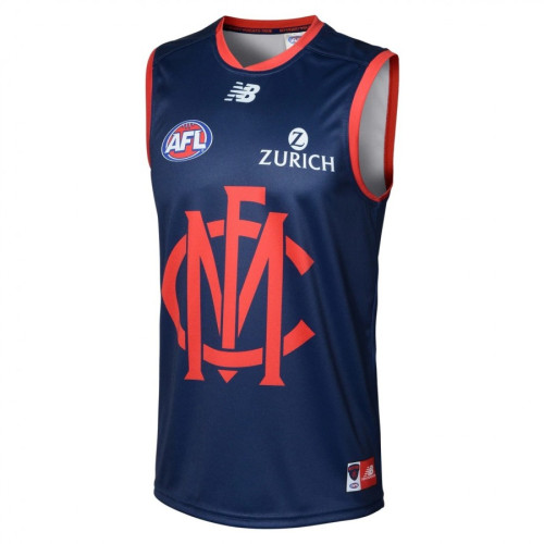 Melbourne Demons 2020 Men's Football Training Guernsey